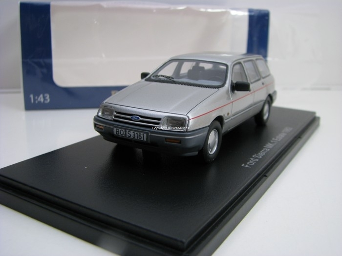 Ford Sierra MK.I Estate 1982 Silver 1:43 BoS-Models